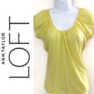 LOFT Scoop Neck Shirt Size Small